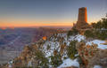 The Watch Tower from Desert View print