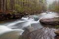 Haw Creek cascade print