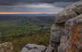 Stormy moring at Petit Jean State Park print