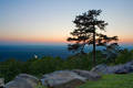 Sunset from Petit Jean Mountain print