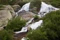 Upper falls, McCullough Gulch print