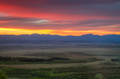 Sunrise over Park County print