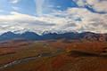 The Alaska Range from Polychrome Pass print