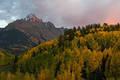 Alpen Glow Mount Sneffels print