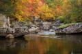 Rocks and Fall Colors  print