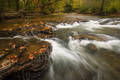 Fall at Ham's Ford Mulberry River print