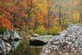 Fall colors Richland Creek print
