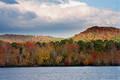 Fall at Cove Lake print