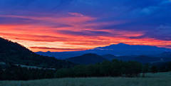 colorado, sunrise, summer