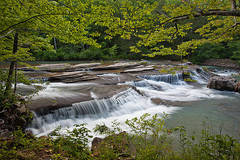 arkansas, waterfalls, spring