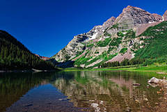 colorado, summer, reflections