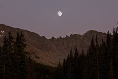Moonrise over Mayflower Gulch