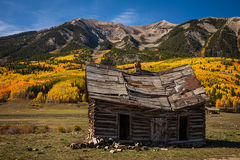 Old Cabin and Aspens