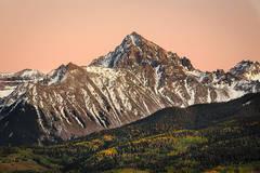 Sunset Mount Sneffels