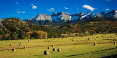 Hay Bales Ralph Lauren Ranch