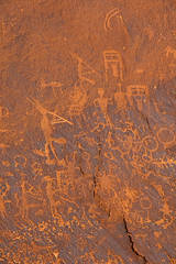 Petroglyphs at Sand Island