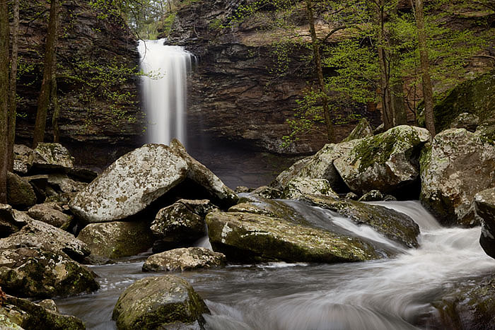 arkansas, waterfalls, photo