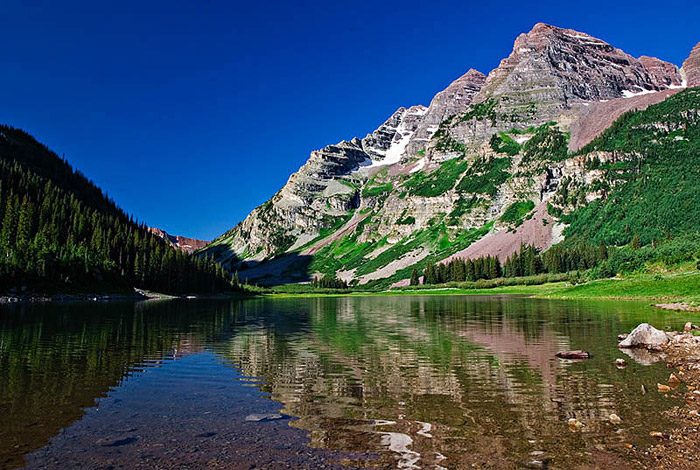 colorado, summer, reflections, photo