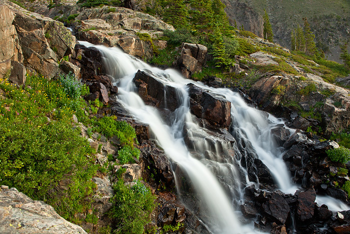 Colorado, waterfalls