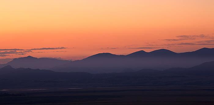 summer, sunrise, colorado, photo