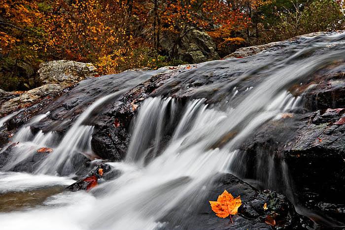 arkansas, fall, waterfalls, photo