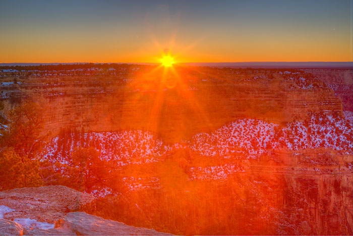 Sunset from Hopi Point