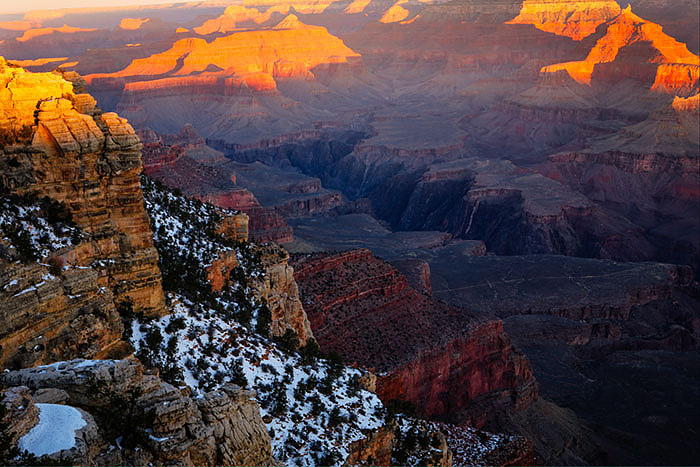 sunrise from Mather Point