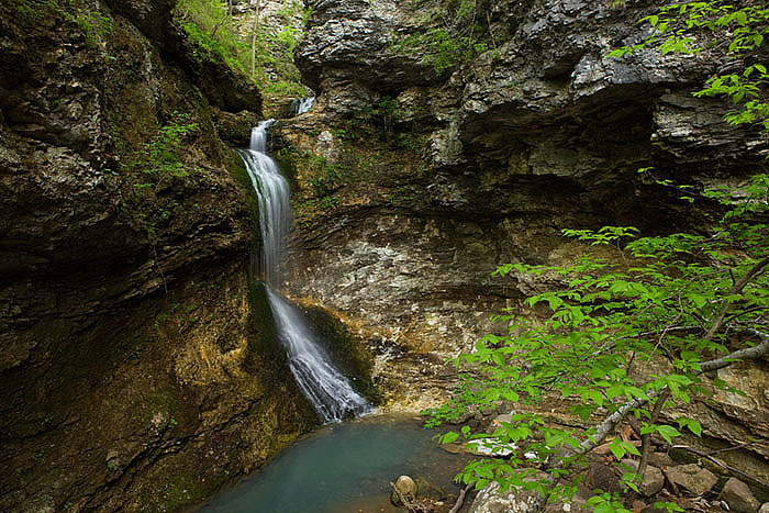 Early moring at Eden Fall in Lost Valley