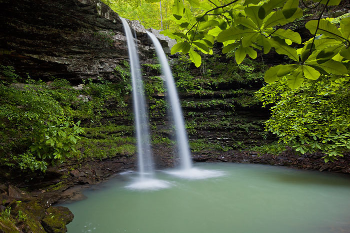arkansas, waterfalls, spring, photo