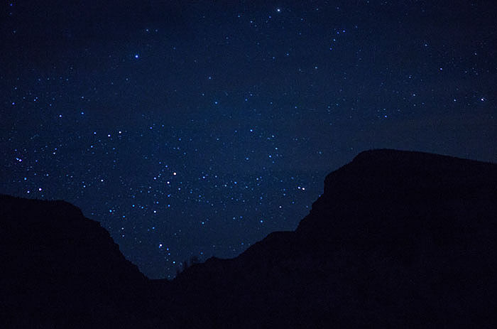 Stars at Midnight from the Campground