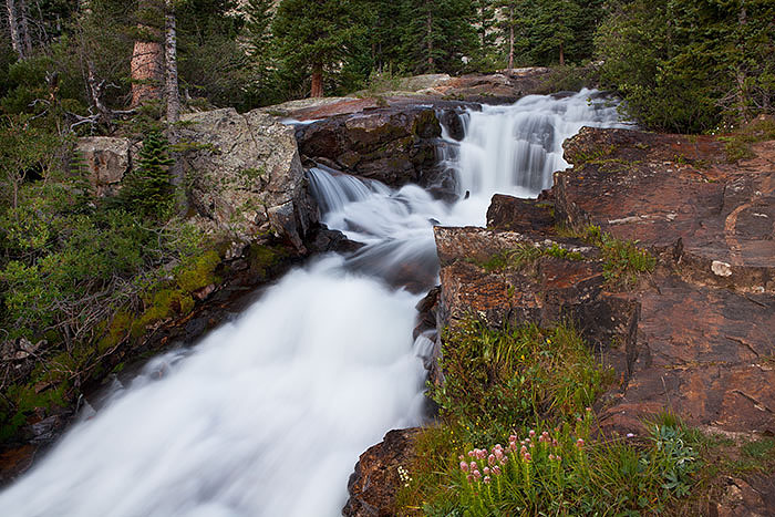 colorado, summer, waterfall, photo