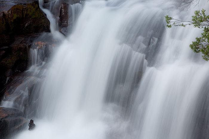 colorado, summer, waterfall