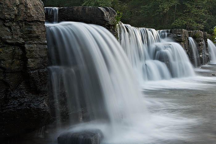 arkansas, waterfalls, photo