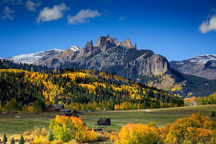 Ranch country near Gunnison, Colorado