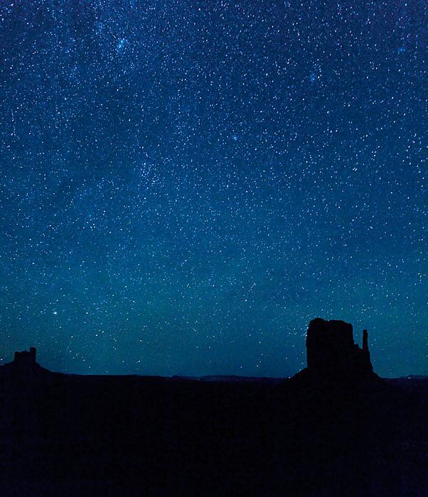 Stars over the West Mitten