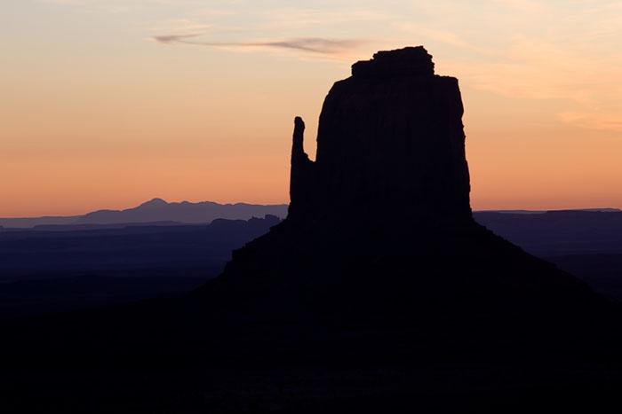 Dawn at the West Mitten