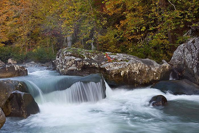 Cascades on Richland Creek