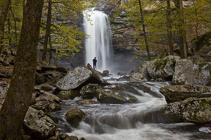 Cedar Fall, Petit Jean State Park